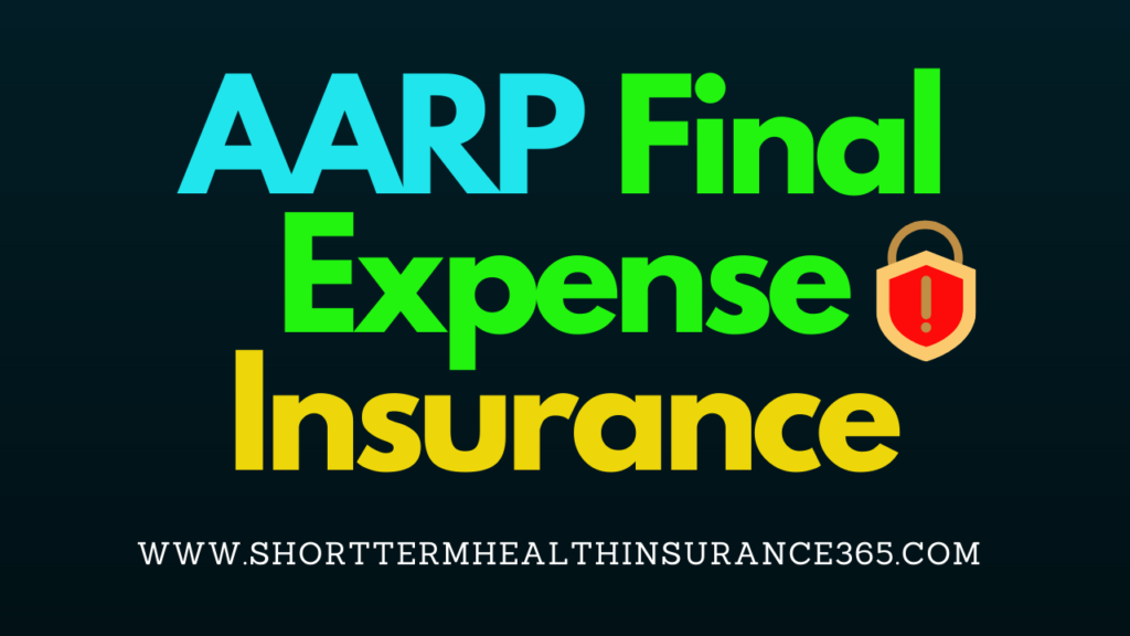 Aarp Final Expense Insurance